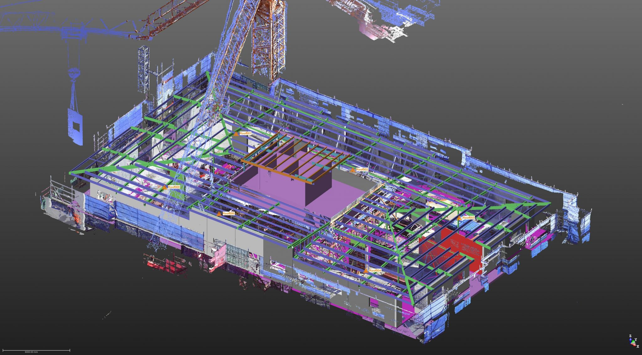 Tekla Steel Detailing Residential Development Brisbane