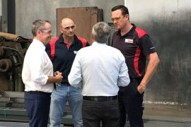 Bill Shorten at Watkins Steel