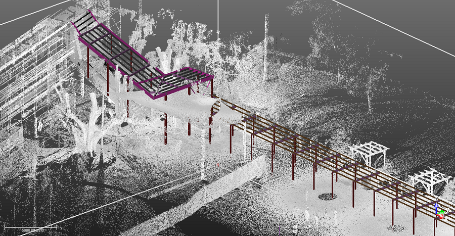 All Hallows School Terraces - 3D Snapshot