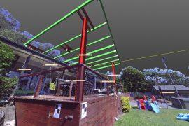Steel Detailing Residential Deck Brisbane