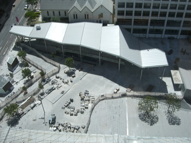 King George Square Aerial View