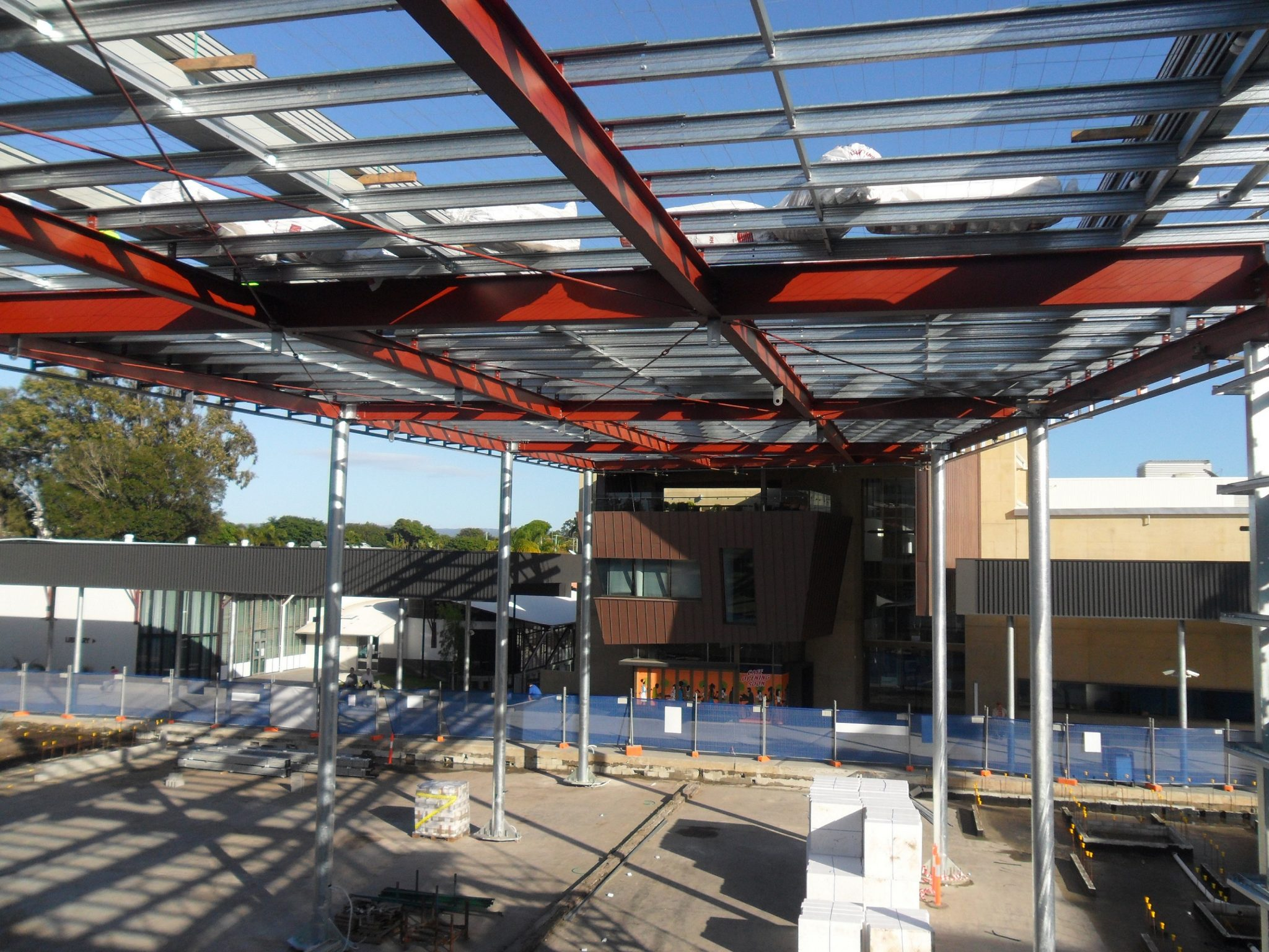 Caboolture Town Square Structural Steel
