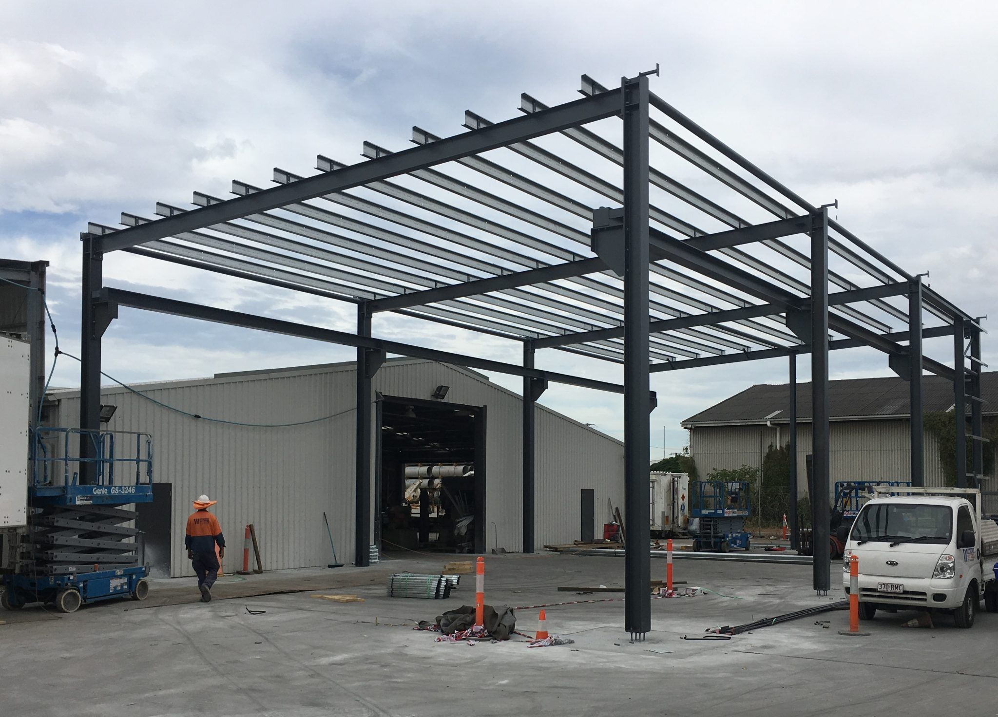 Structural Steel Pinkenba Warehouse