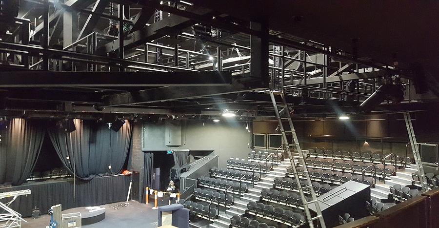 QUT La Boite Theatre Gantry Framing
