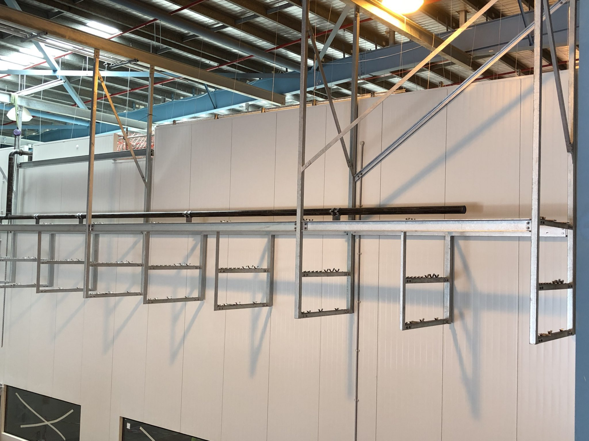 CCA Richlands Gantry Framing